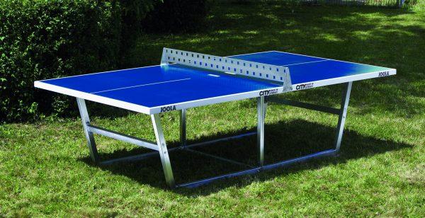 Schulhof Tischtennisplatte